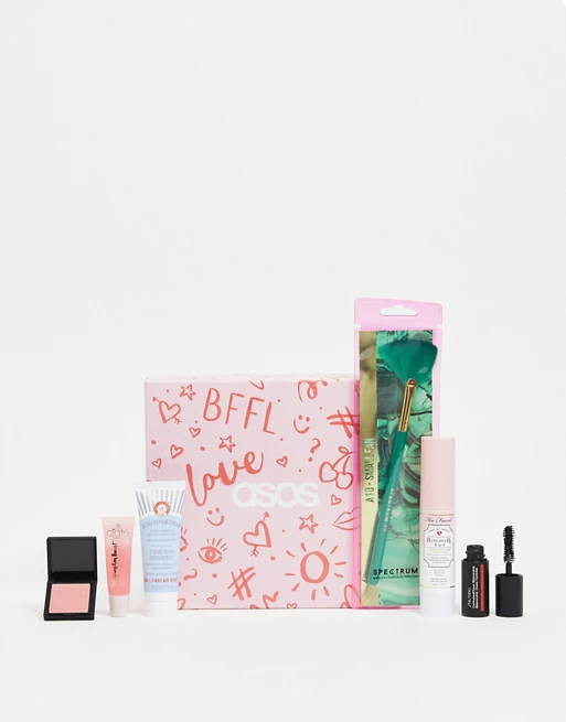 ASOS Box For Your Bestie Beauty Box February 2021 MAKEUP MUDDLE