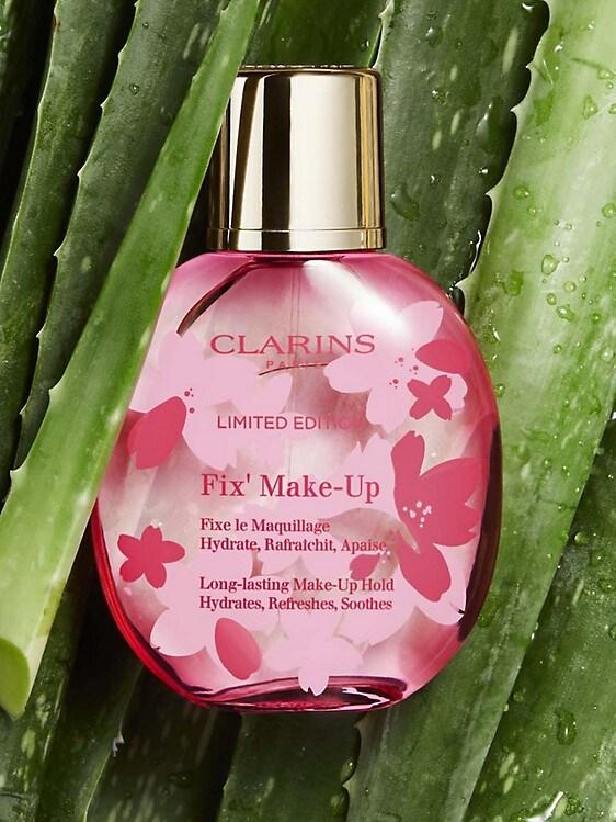 Clarins Cherry Blossom Fix Make-Up Setting Spray