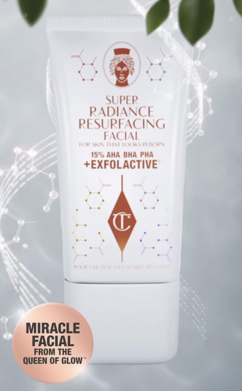 Charlotte Tilbury Super Radiance Resurfacing Facial Reveal!