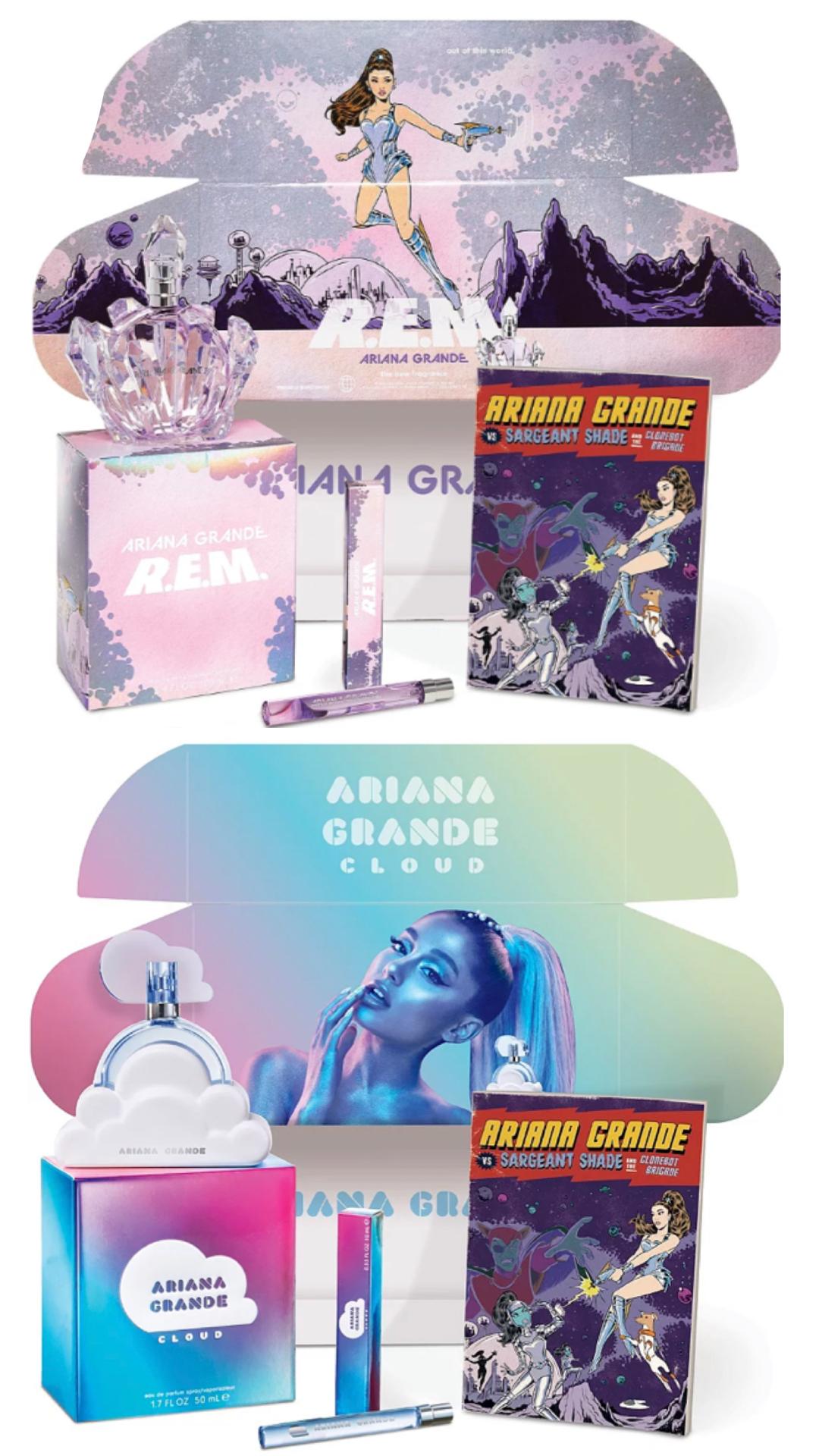 Ariana Grande Cloud Fan Box Set & R.E.M Fan Box Set