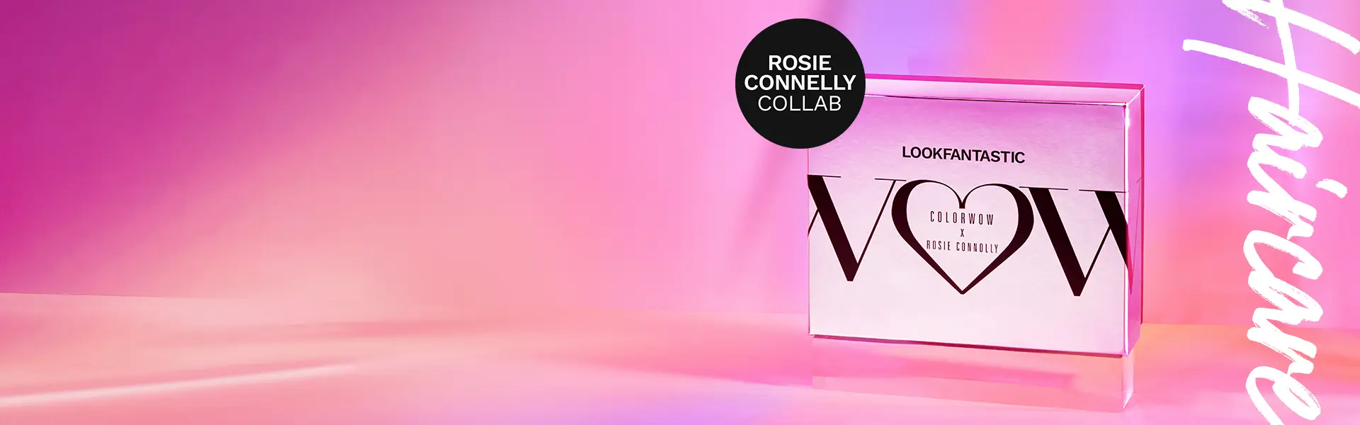 Lookfantastic Color Wow x Rosie Connolly Collection