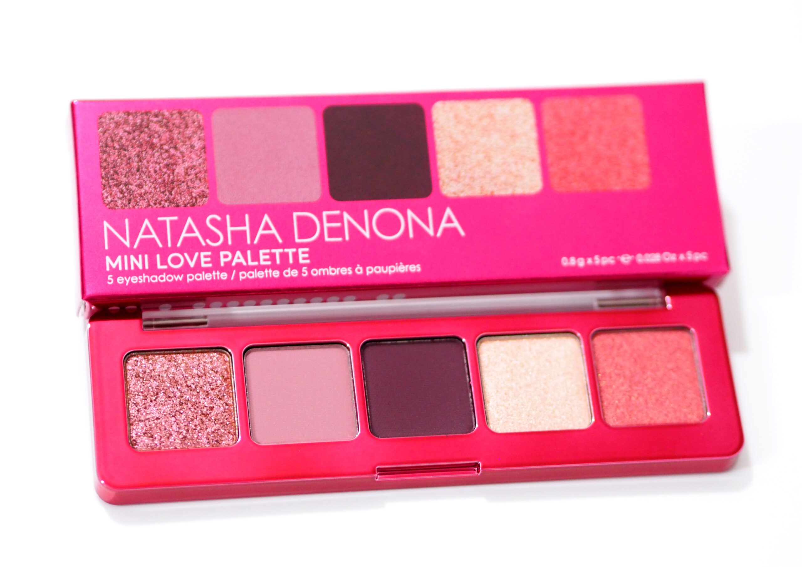 Natasha Denona Mini Love Palette Review and Swatches