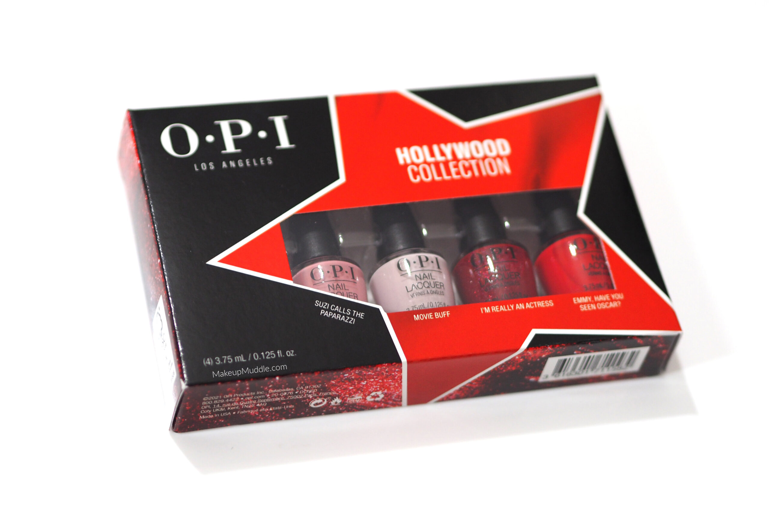 OPI Hollywood Collection Mini Polish Set Review / Swatches