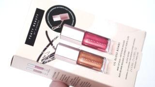 Fenty Lip Gloss Bombs Mini Lip Duo + Key Chain Set Review