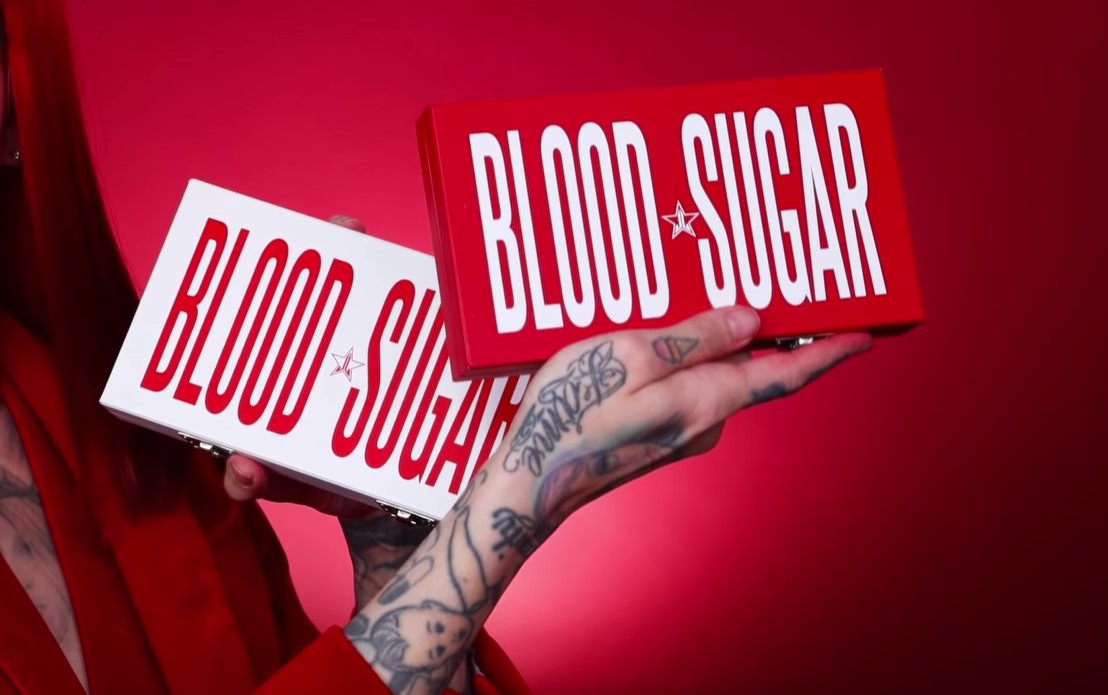 Jeffree Star Cavity Palette and Blood Sugar Anniversary Collection