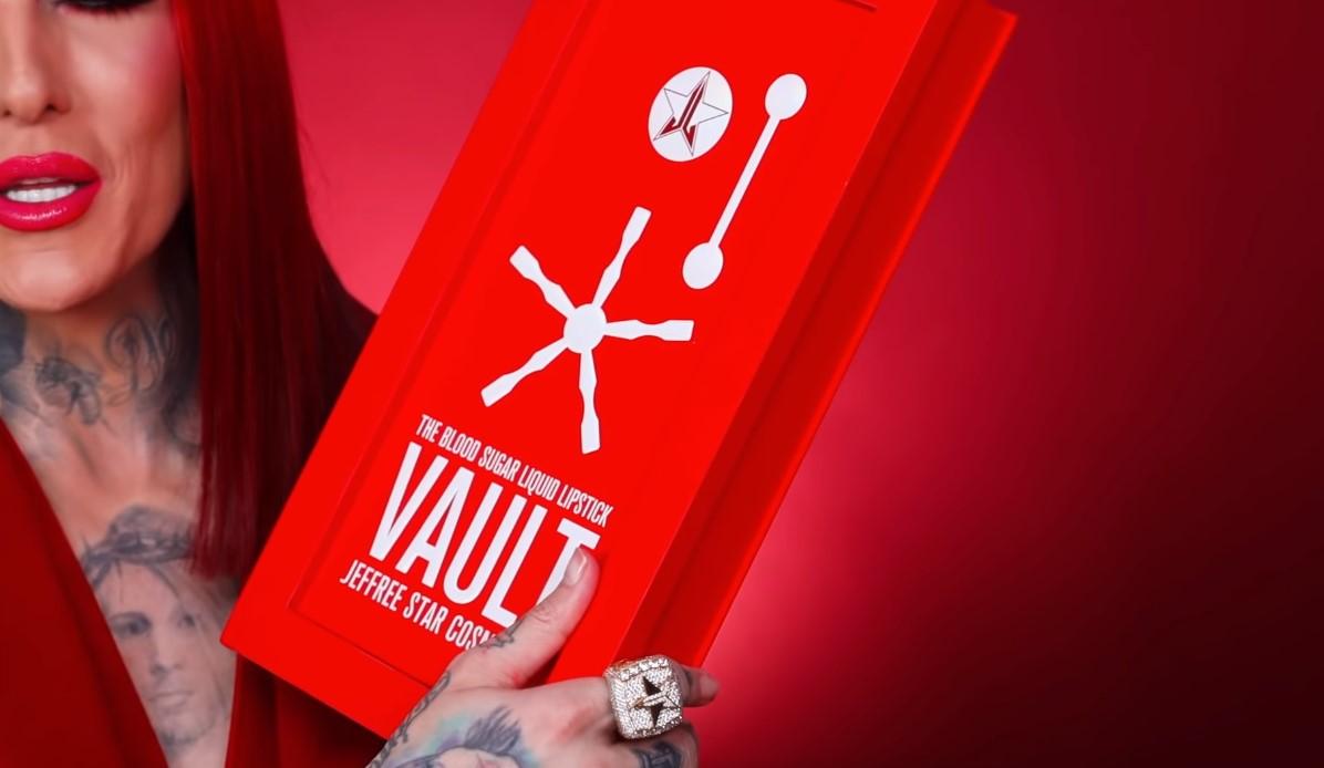 Jeffree Star Blood Sugar Velour Liquid Lipstick Vault