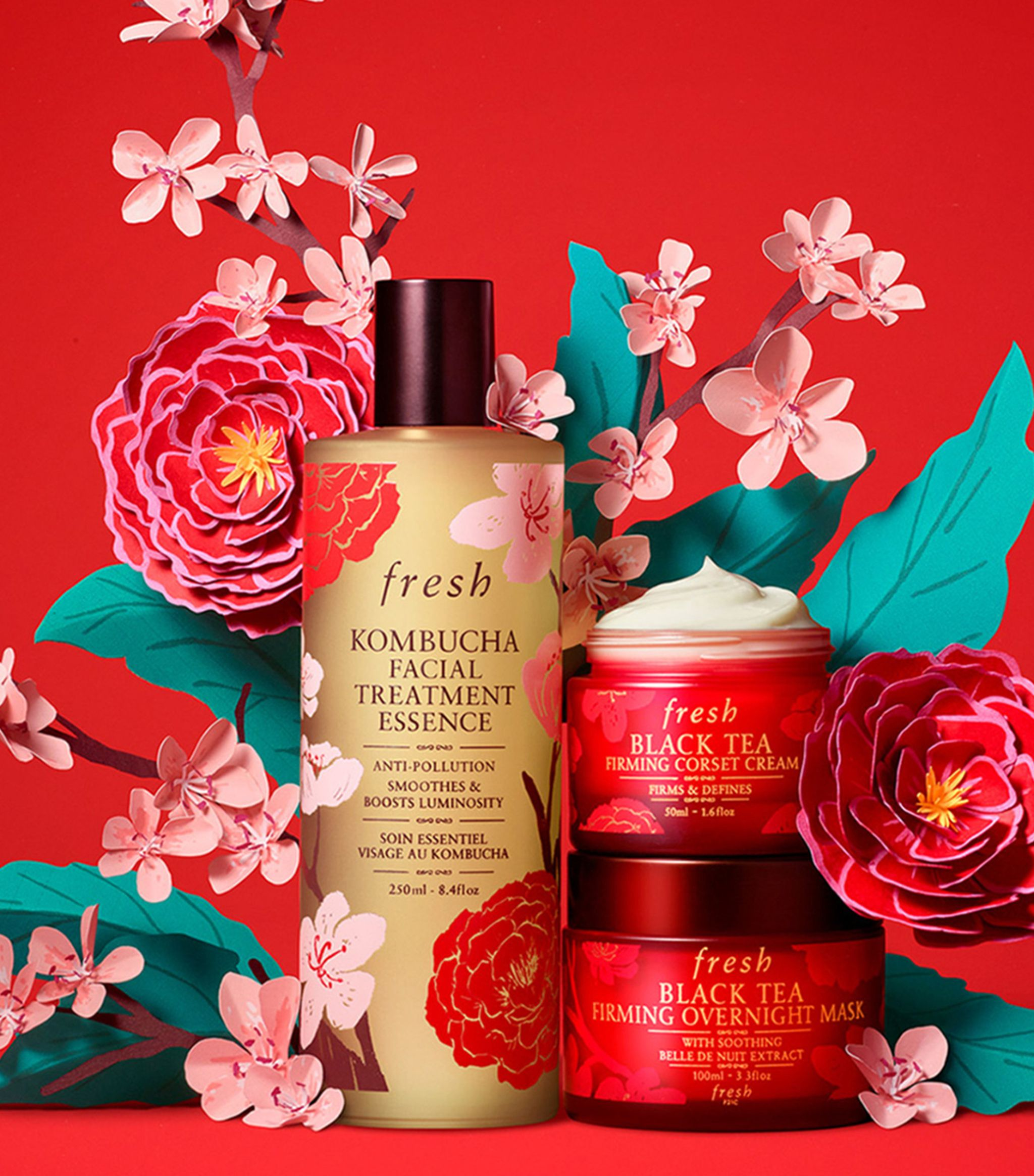 Fresh Beauty Lunar New Year Black Tea Firming Corset Cream