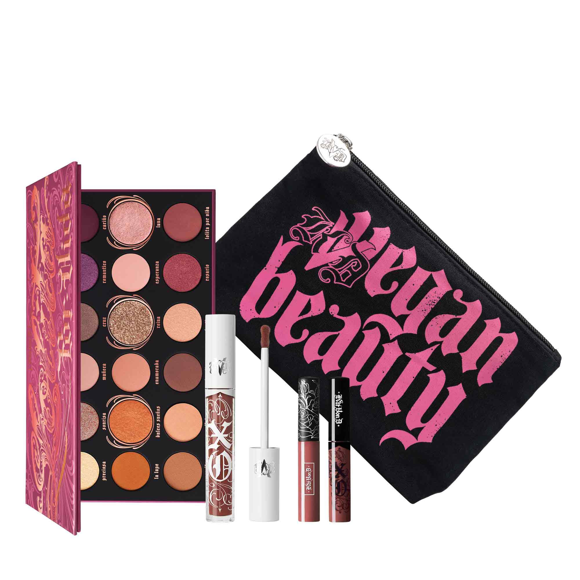 KVD Vegan Beauty Lolita Icons Eye & Lip Bundle
