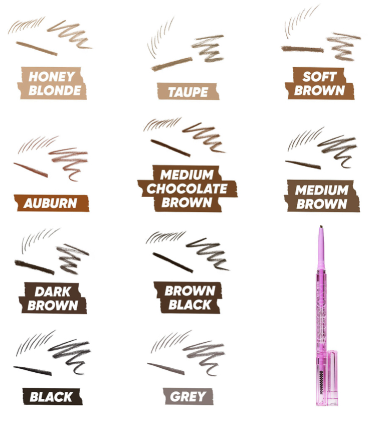 Kosas Brow Pop Clean Dual-Action Defining Eyebrow Pencil