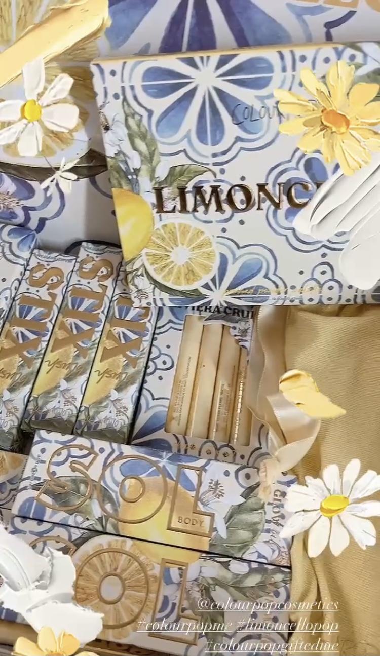 ColourPop Limoncello Collection Reveal