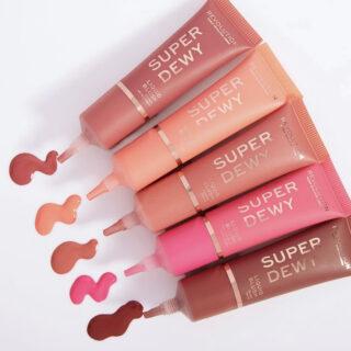 Revolution Superdewy Liquid Blush Collection