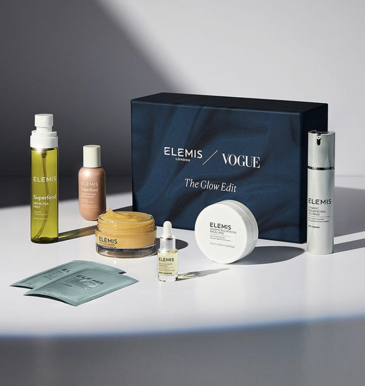 Elemis x Vogue The Glow Edit Beauty Box