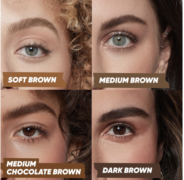 Kosas Air Brow Tinted Clean Volumizing Eyebrow Gel