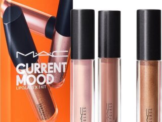 MAC Current Mood Lipglass x 3 Kit