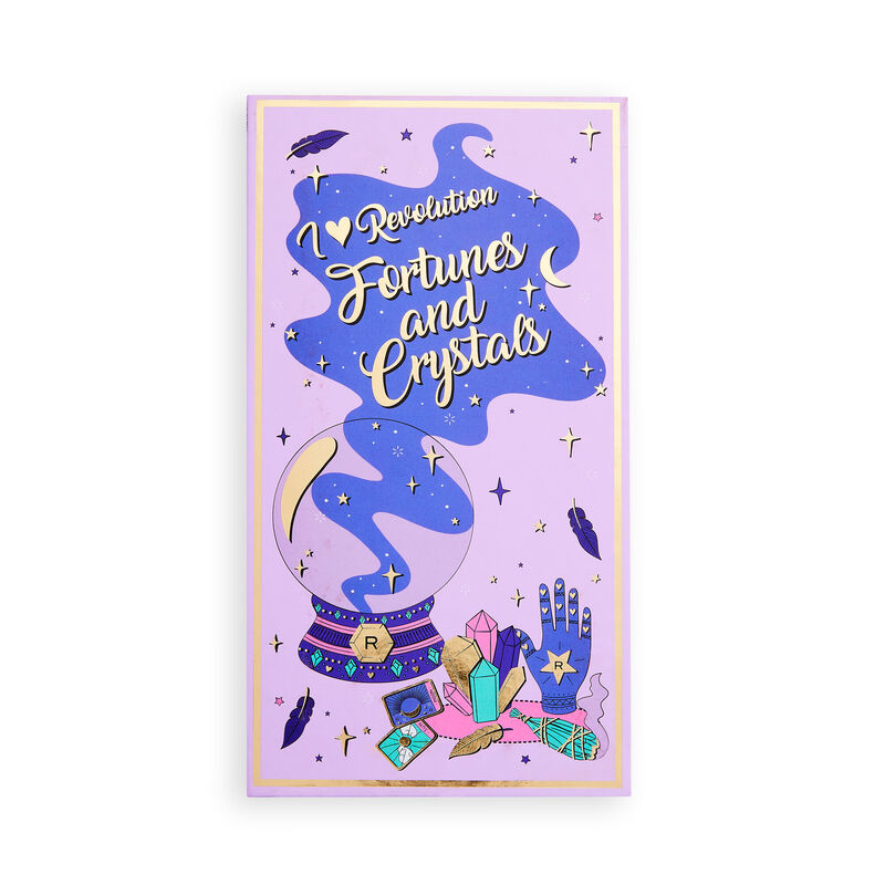 I Heart Revolution Fortunes and Crystals Book of Spells Palette