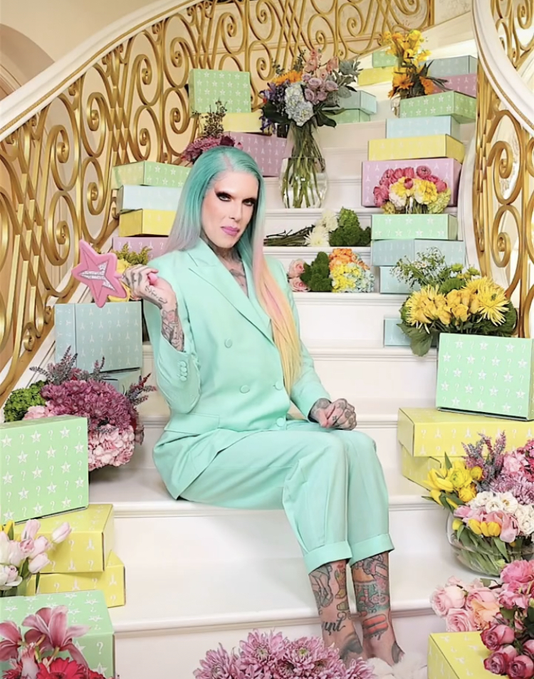 Jeffree Star Cosmetics Spring Mystery Boxes 2021 collection