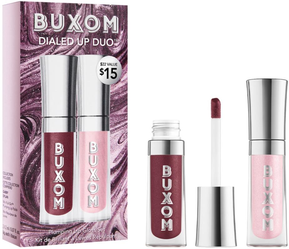 Buxom Dialed Up Duo Full-On Plumping Lip Polish Set