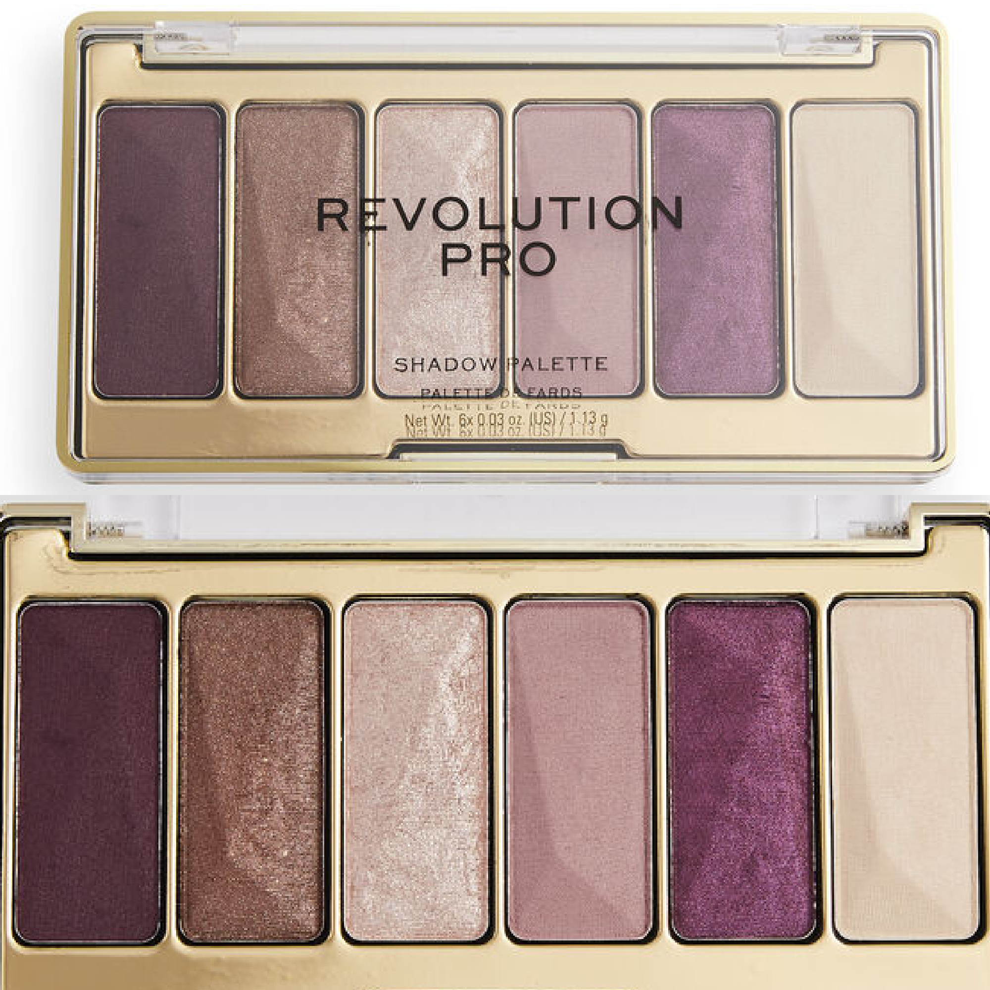 Revolution Pro Moments Eyeshadow Palette Collection