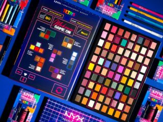 NYX Cosmetics x Tetris Collaboration