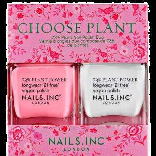 Nails Inc Choose Plant Nail Polish Duo