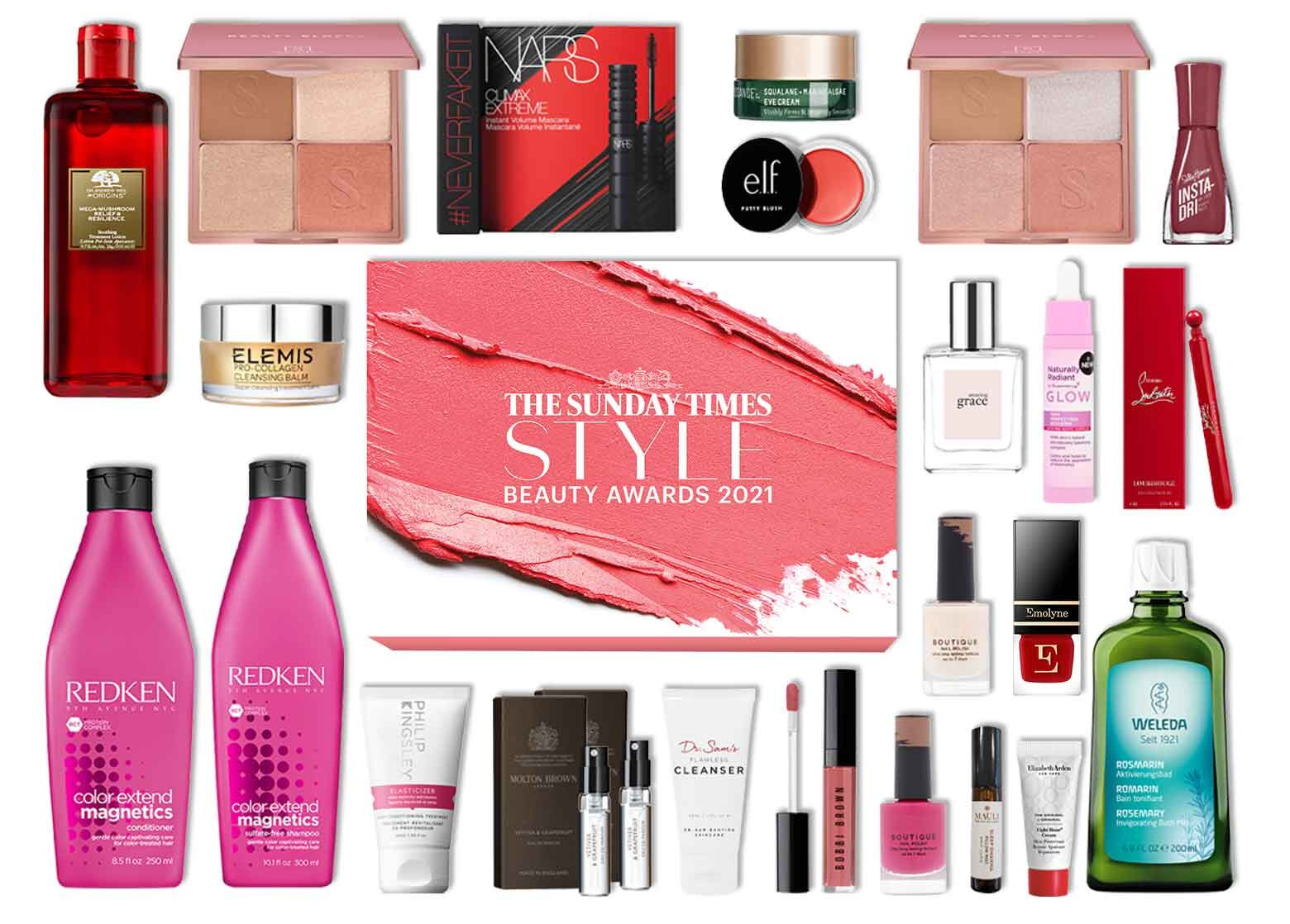 Latest In Beauty The Style Beauty Awards Edit 2021