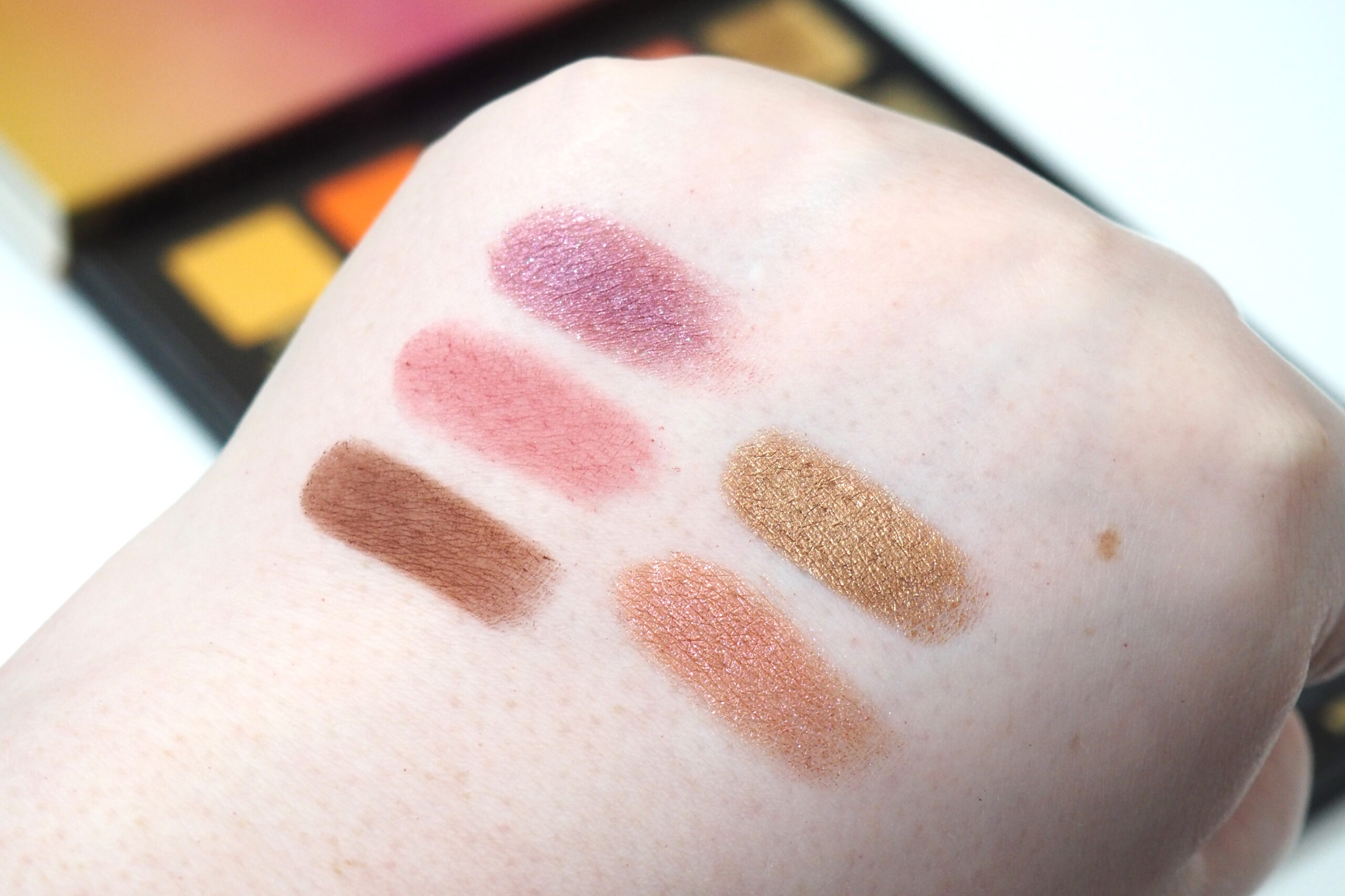 Sample Beauty The Equalizer Palette: Volume II Review / Swatches