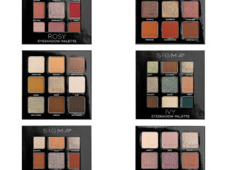 Sigma Beauty On-The-Go Eyeshadow Palette Collection
