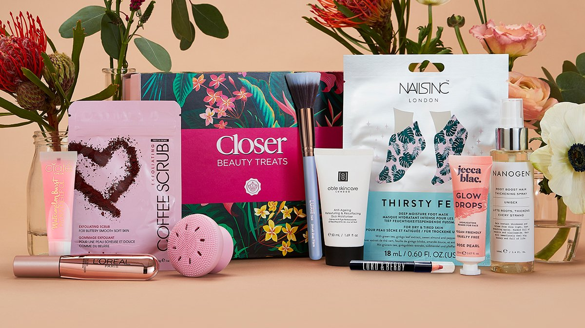 Glossybox x Closer Limited Edition Box 2021