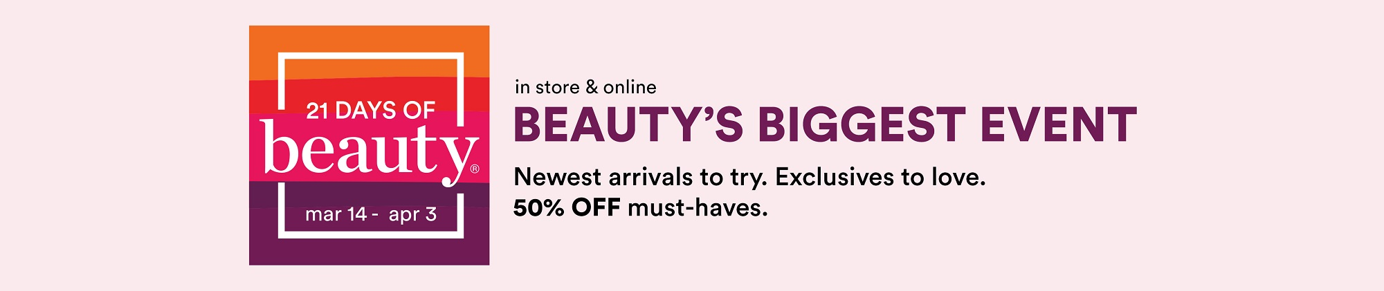 ULTA 21 Days of Beauty Ultimate Shopping Guide | March 2021
