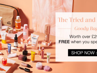 Cult Beauty The Tried and Tested Goody Bag Gift With Purchase   April 2021