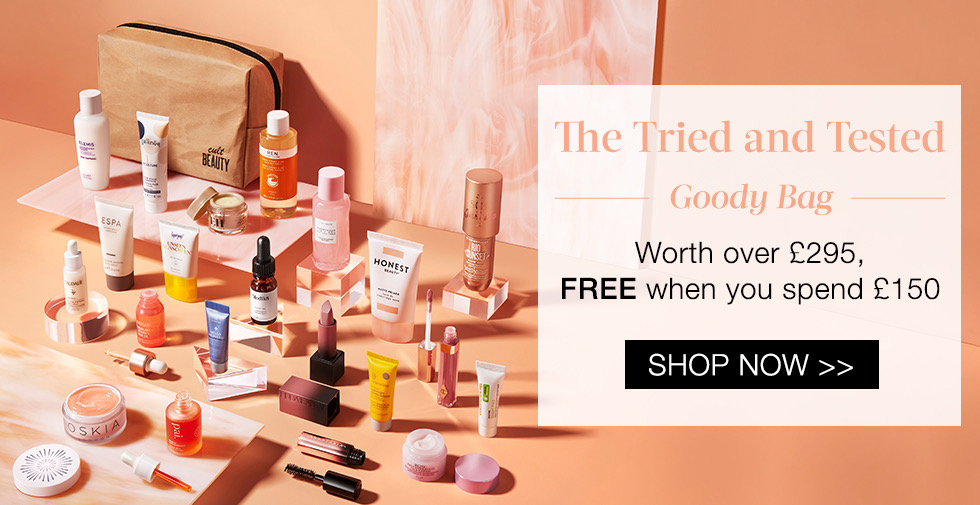 Cult Beauty The Tried and Tested Goody Bag Gift With Purchase | April 2021