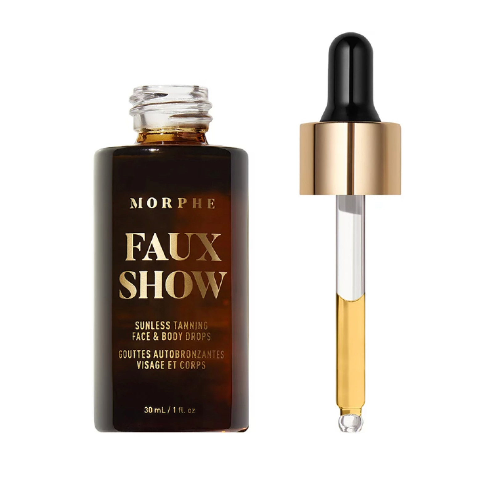 Morphe Faux Show Sunless Tanning Face & Body Drops