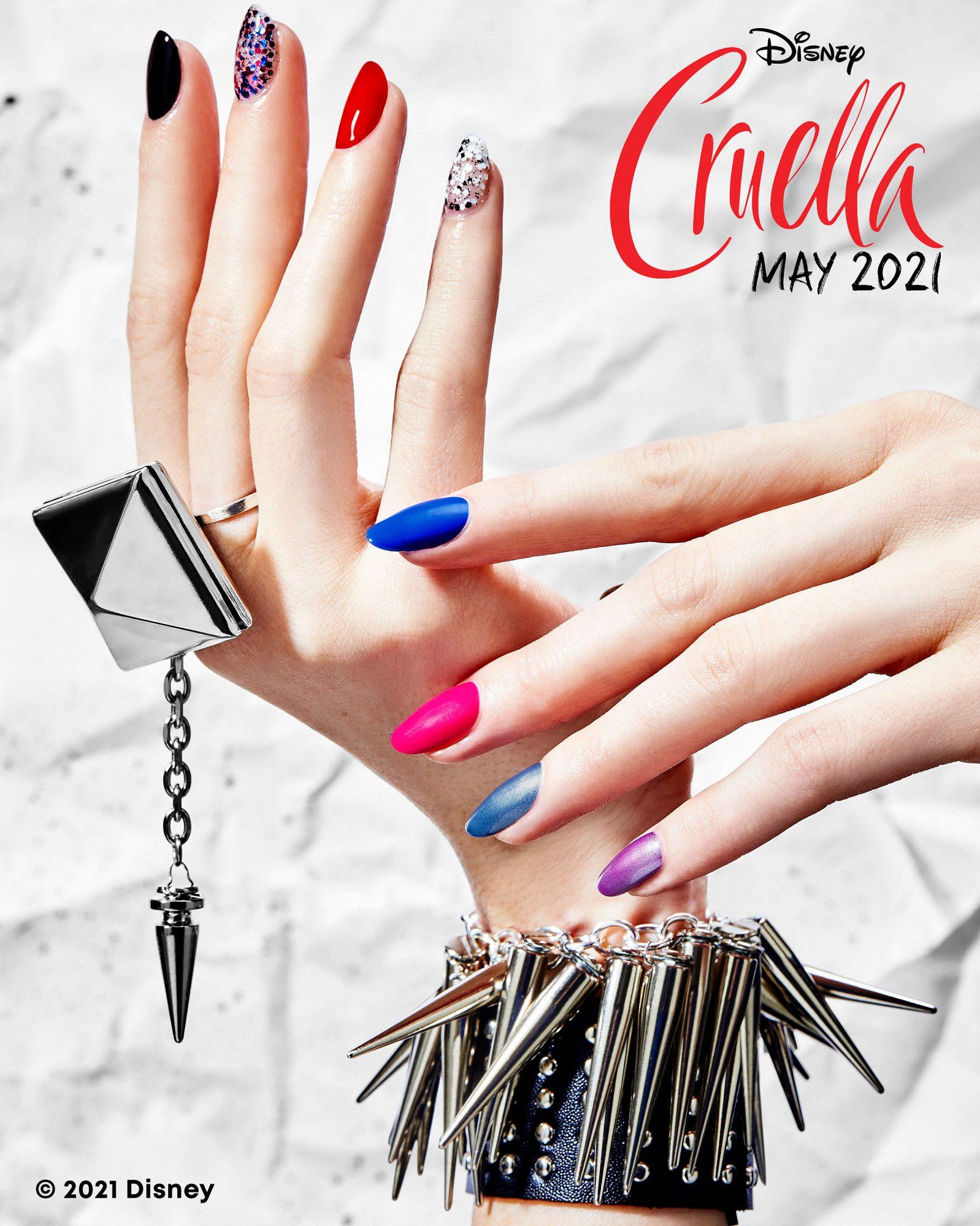 Sally Hansen x Disney Cruella Miracle Gel Collection