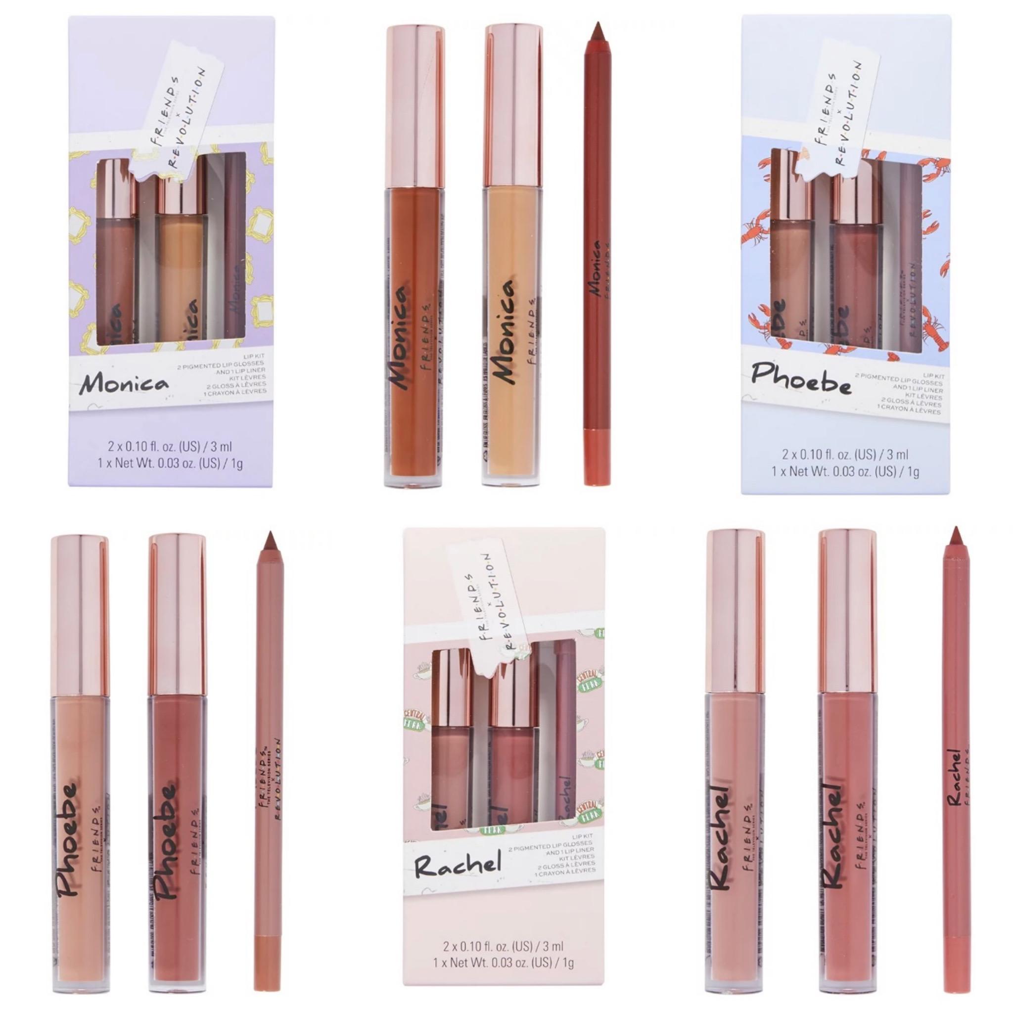 Revolution x Friends Lip Kits