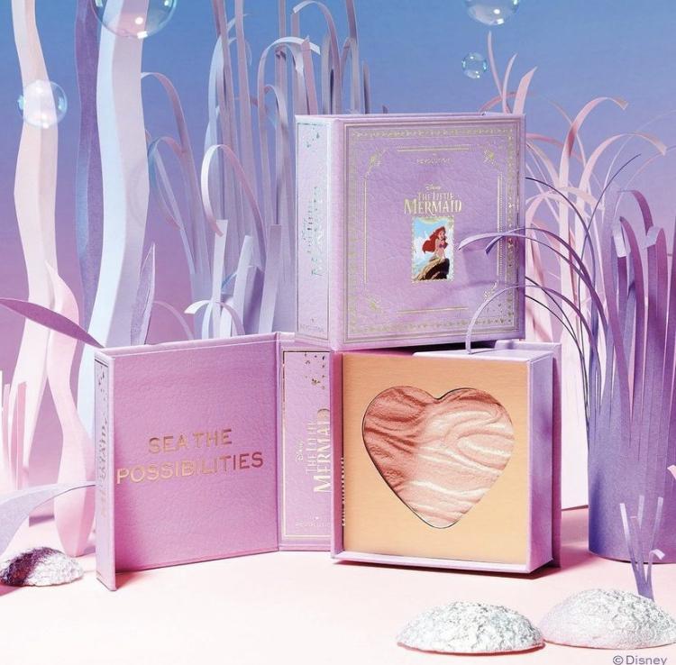 I Heart Revolution x Disney Ariel The Little Mermaid Collaboration