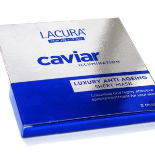 Aldi Lacura Caviar Luxury Anti Ageing Sheet Masks Review