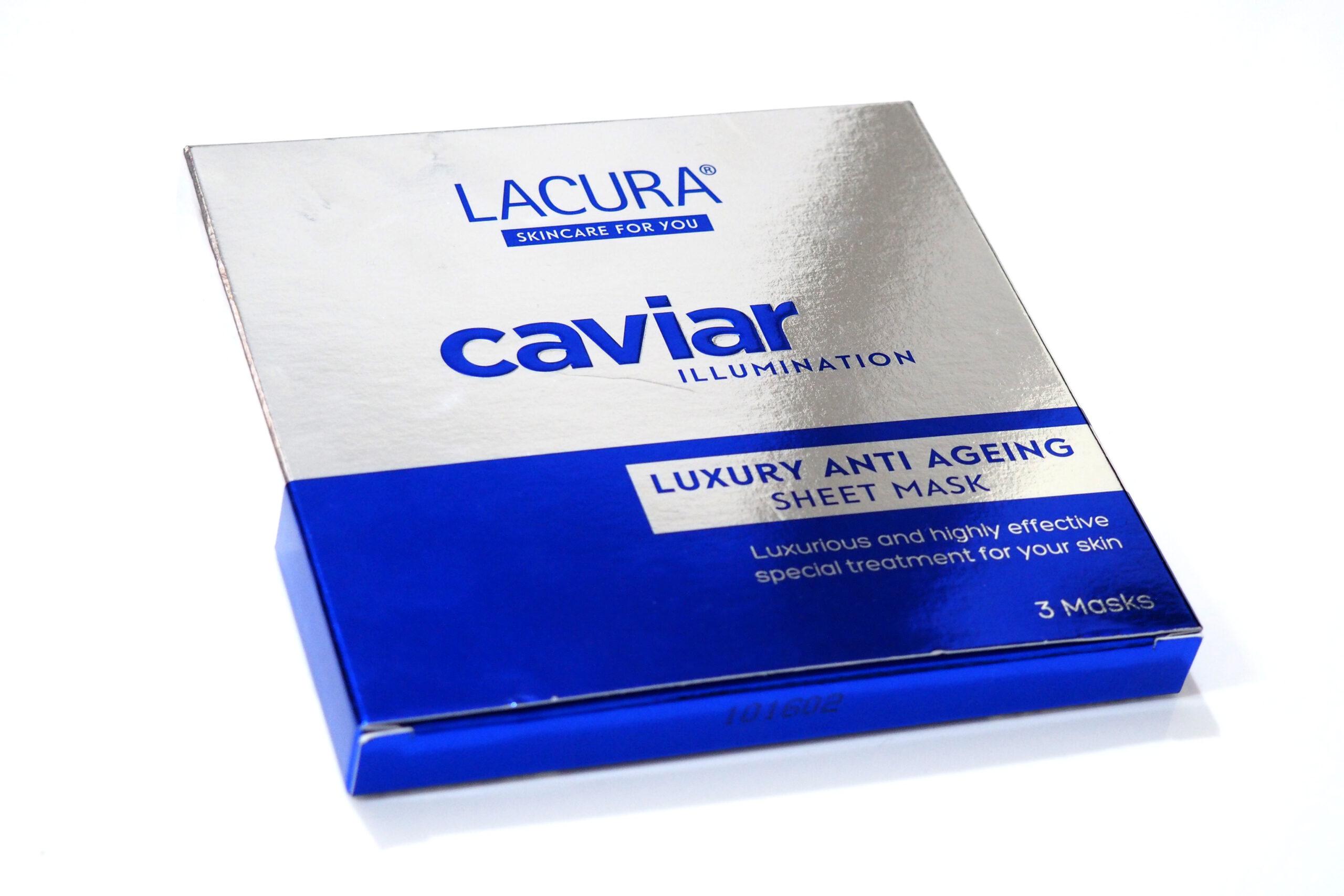 Aldi Lacura Caviar Luxury Anti Ageing Sheet Masks Review 1