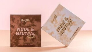 Barry M Nude & Neutral Eyeshadow Palettes