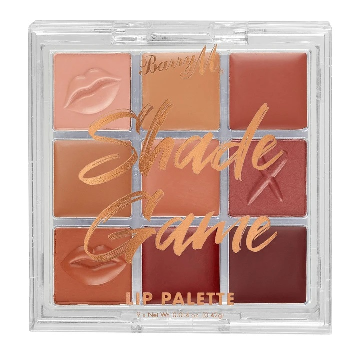 Barry M Shade Game Lip Palette