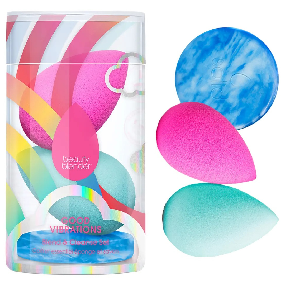 BeautyBlender Good Vibrations Blend & Cleanse Set