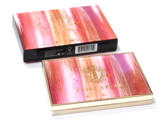 Bobbi Brown Luxe Metal Rose Eyeshadow Palette Review / Swatches