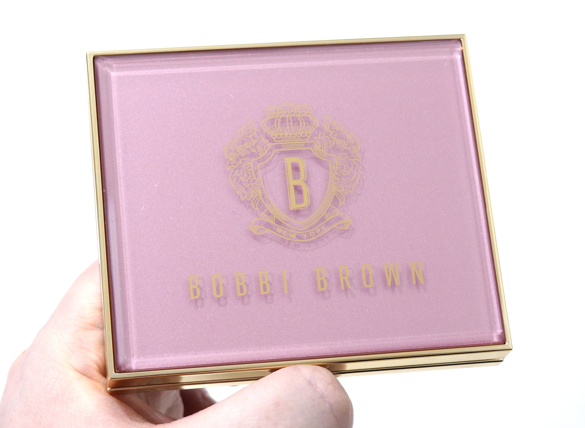 Bobbi Brown Pink Glow Luxe Eyeshadow Palette Review Swatches