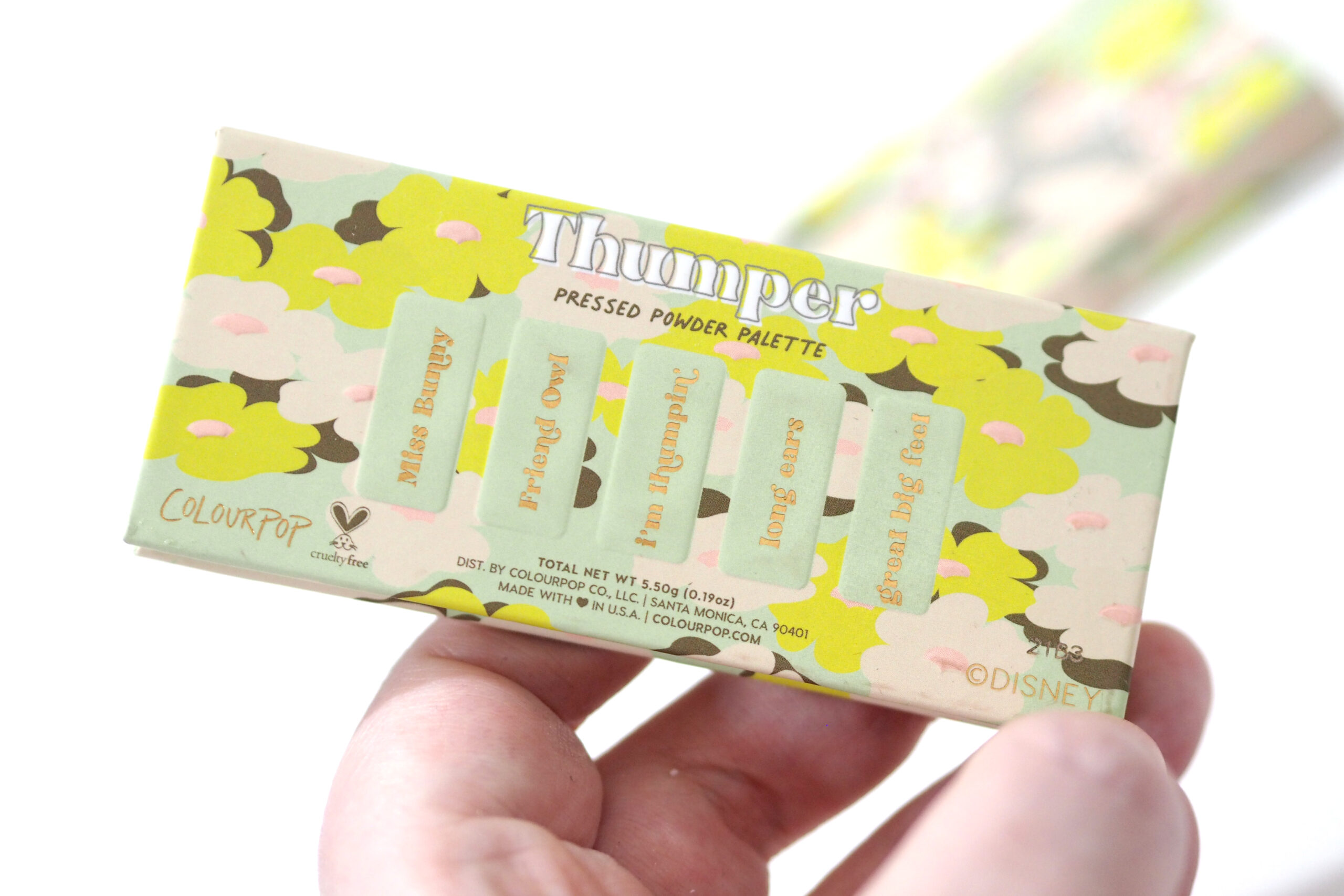 ColourPop Bambi Thumper Palette Review Swatches