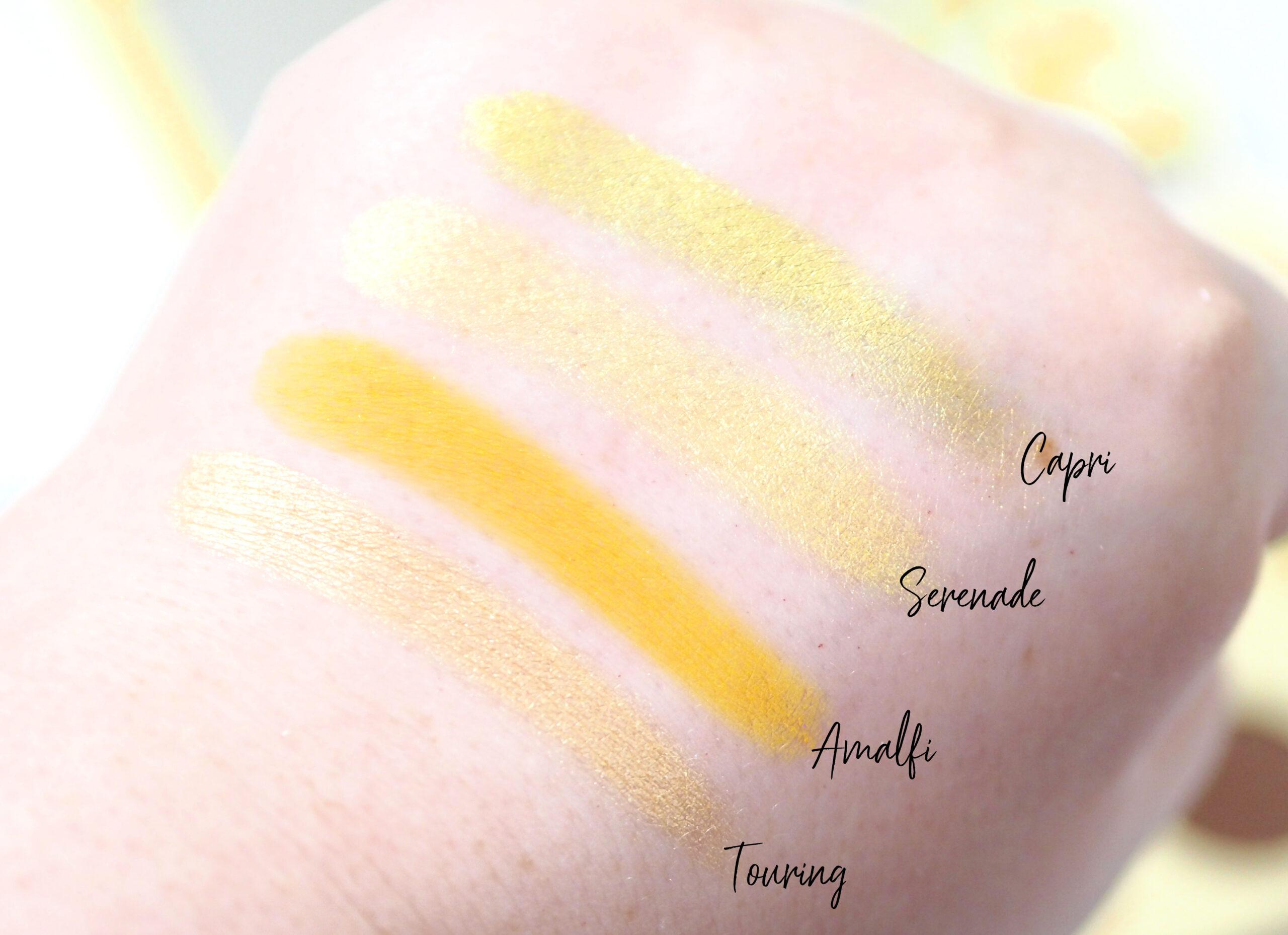 ColourPop Limoncello Eyeshadow Palette Review / Swatches