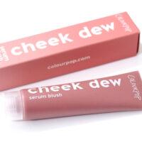 ColourPop Tumble 4 Ya Cheek Dew Serum Blush Review Swatches
