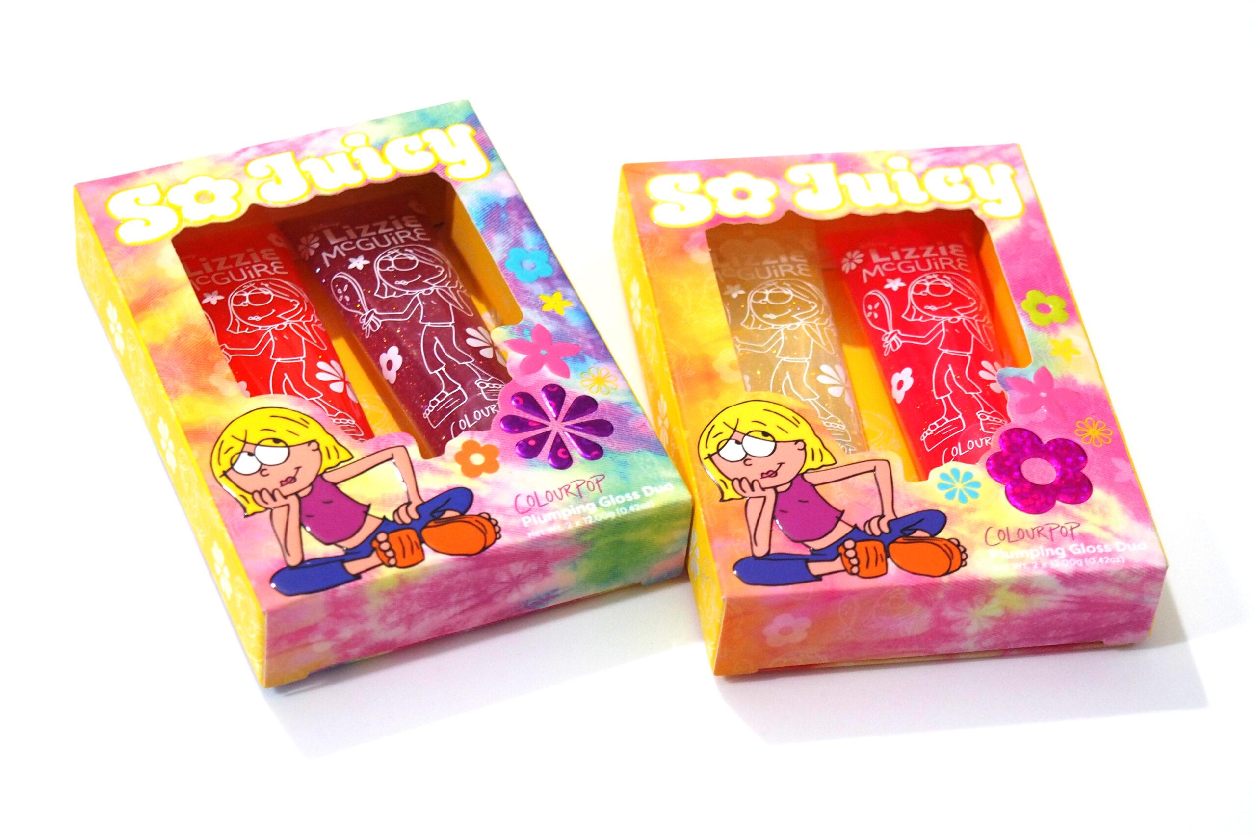 ColourPop x Disney Lizzie McGuire Collection Review / Swatches