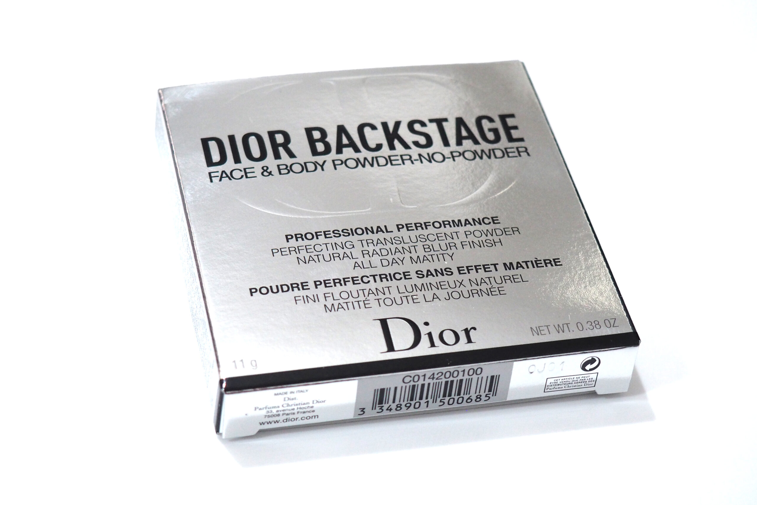 DIOR Backstage Face & Body Powder No Powder Review / Swatches 1