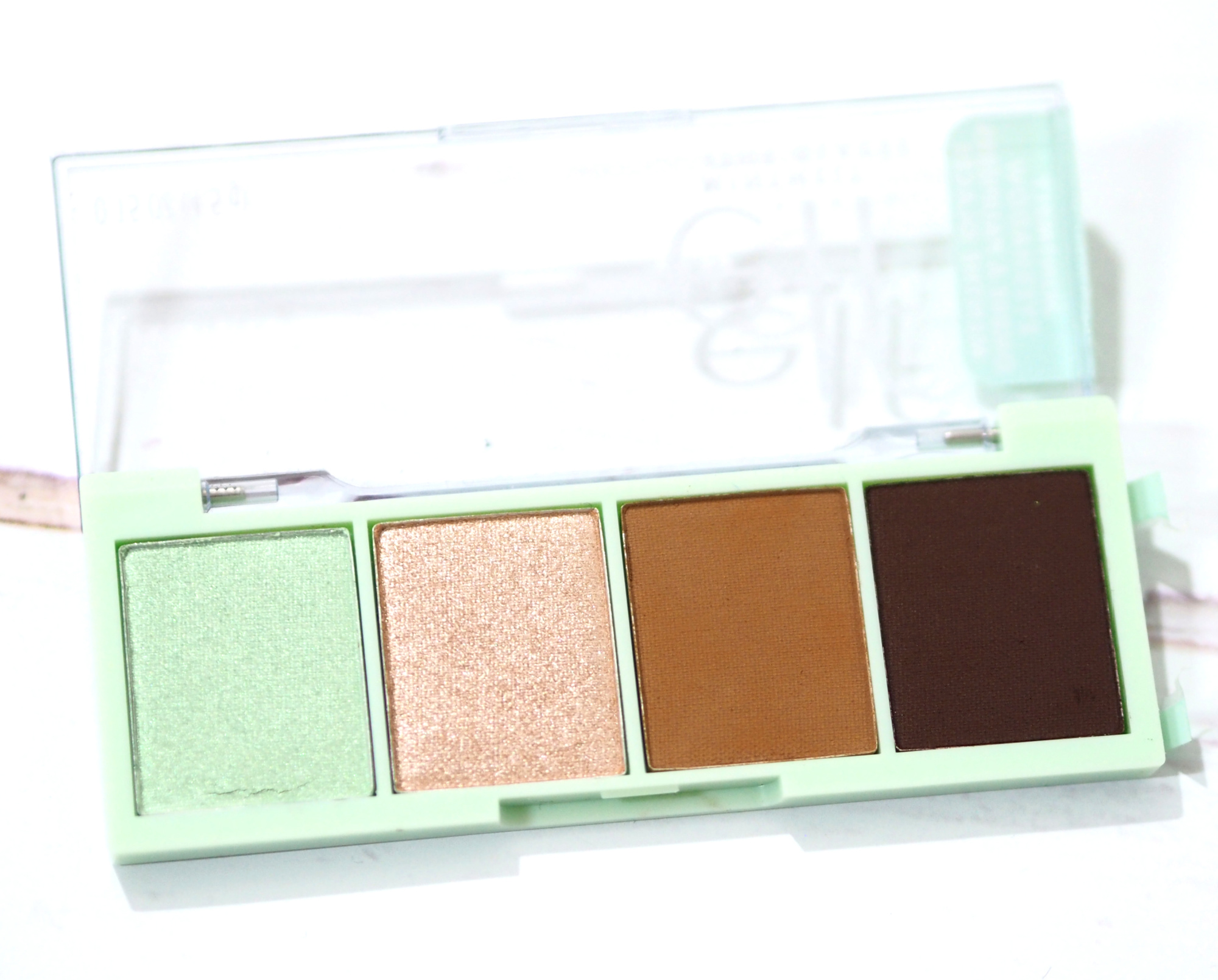 ELF Chocolate Mint Eyeshadow Palette Review / Swatches