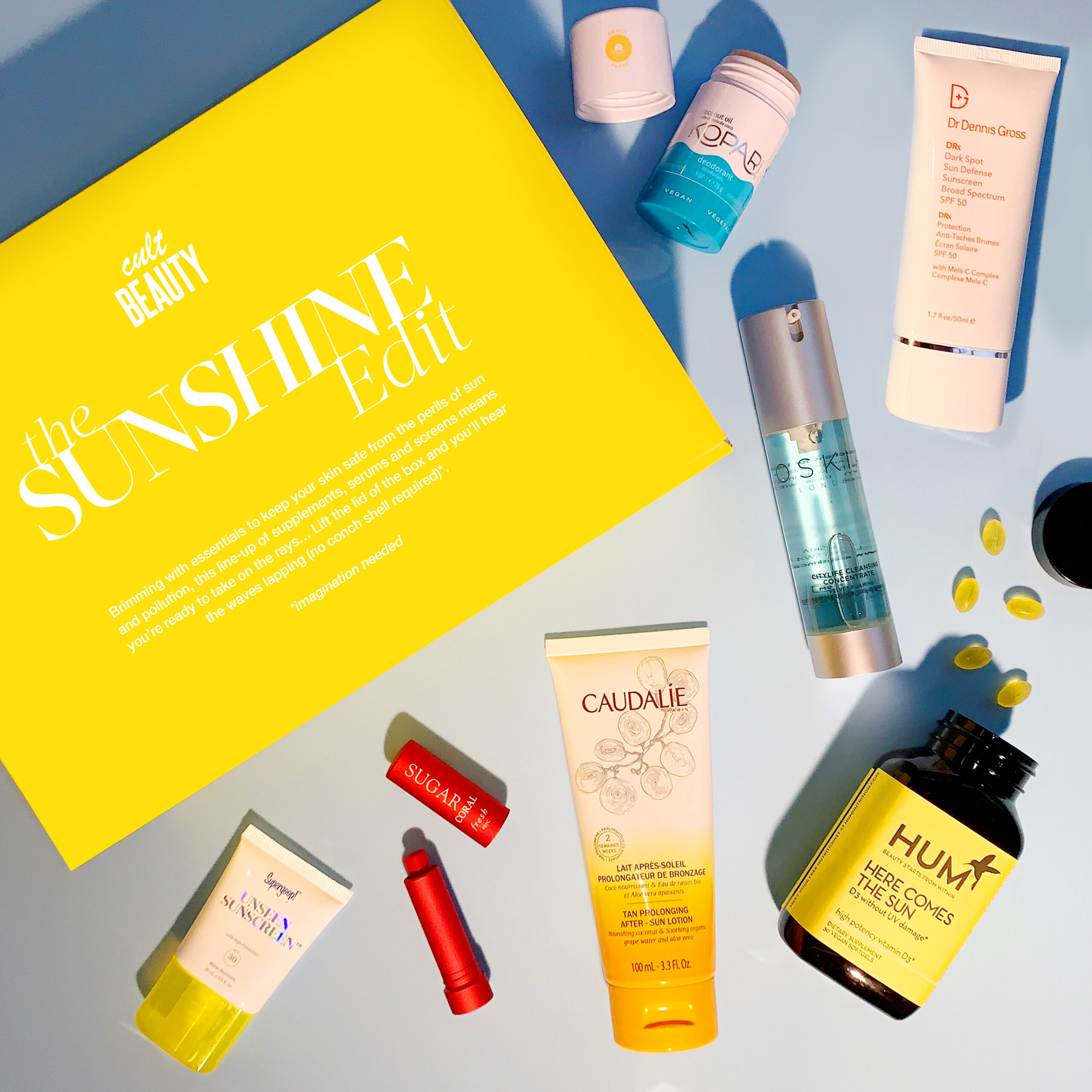 Cult Beauty The Sunshine Edit Beauty and Wellness Box Reveal!