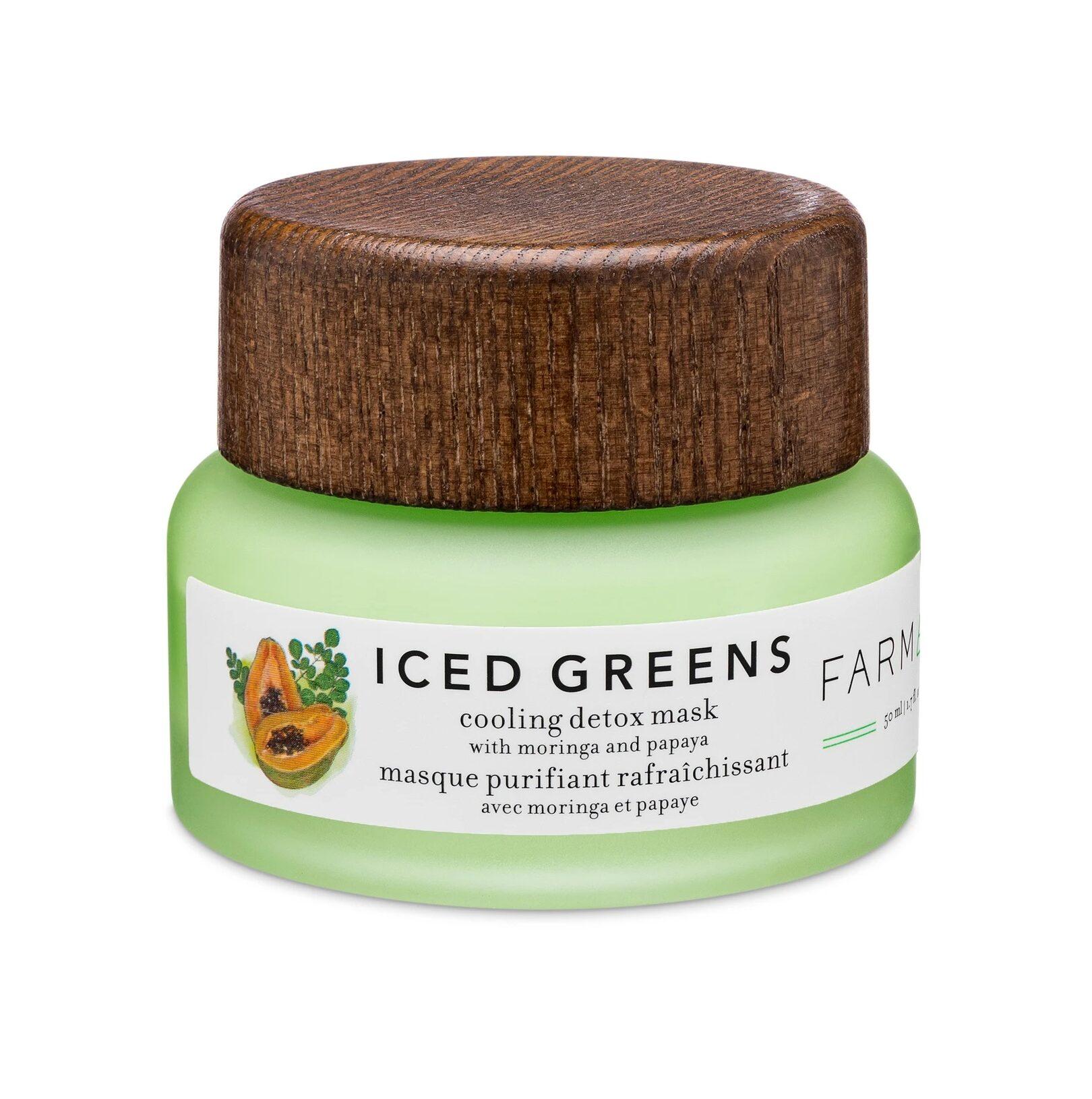 Farmacy Beauty Iced Greens Cooling Detox Mask